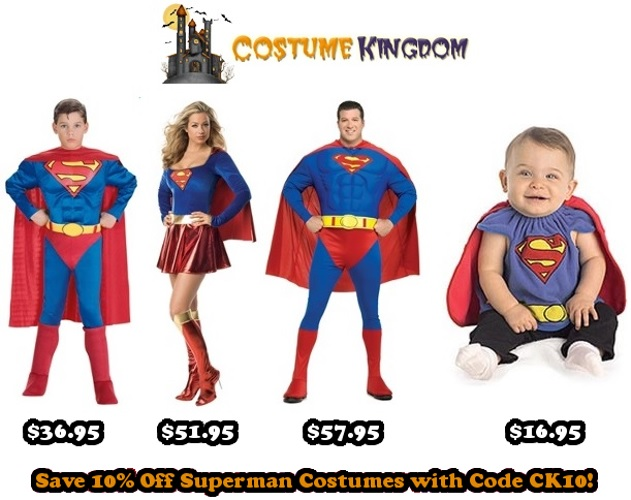10% off Superman