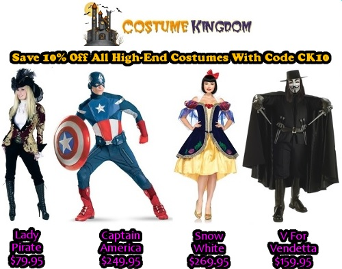 10% Off High-End Costumes