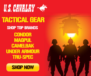 Shop U.S. Cavalry For Top Gear Now!