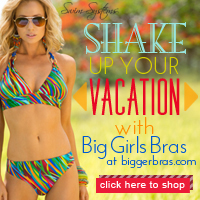Shake up your vacation with a new swimsuit from Big Girls Bras at BiggerBras.com