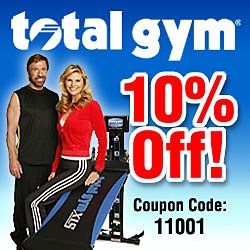 Get 10% Off At TotalGymDirect.com Today!