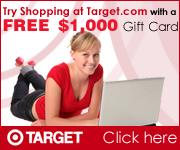 FREE $1000 Target Gift Card