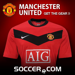 Manchester United Gear at Soccer.com!