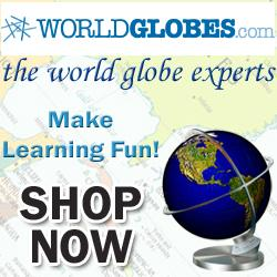 WorldGlobes.com - Make Learning Fun!