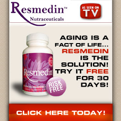 Aging is a fact of life... Resmedin is the Solution!