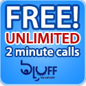 Free Unlimited 2 minute Calls