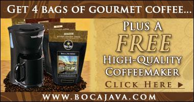 BocaJava.com Gourmet Coffee, Teas & Foods. Shop Now!
