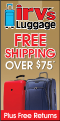 Irv's Luggage - Free Shipping Over $75 Plus Free Returns!