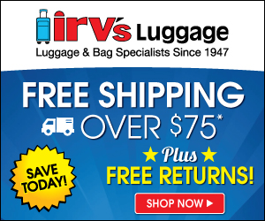 Irv's Luggage banner