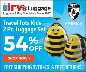 Sale on Hey's America Travel Totes Kids 2-Piece Luggage & Backpack Sets