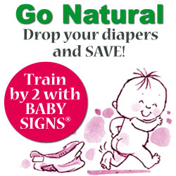 Potty Train by 2 with the Baby Signs Potty Training Kit