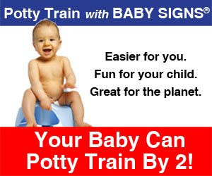 Save $10 on the Baby Signs Potty Training Kit! Code: Potty50