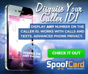 SpoofCard free trial