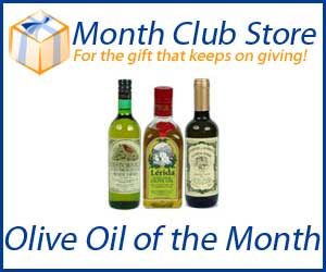 Gift idea - Olive Oil of the Month Club at MonthClubStore.com