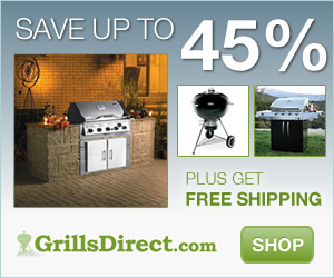 Save up to 45% on GrillsDirect.com