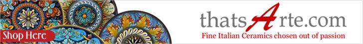 thatsArte.com - Fine Italian Ceramics chosen out of passion