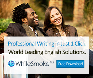 Download Whitesmoke today for Free!
