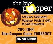 20% OFF ALL PURCHASES - The Big Popper!