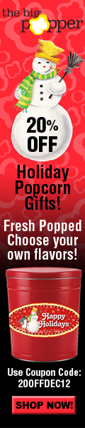 20% OFF ALL PURCHASES AT THEBIGPOPPER.COM