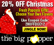 20% OFF ALL PURCHASES AT - THEBIGPOPPER.COM