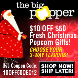 $10 OFF ANY PURCHASE $50 OR MORE - THEBIGPOPPER.COM
