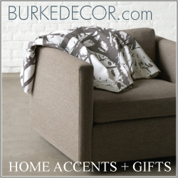 Organic Cotton Flannel Throws and Pillows at BURKEDECOR.com