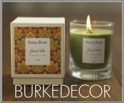 Soy Candles by India Rose and Kobo at BURKEDECOR.com