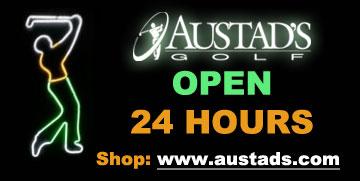 Open 24 Hours at Austads Golf