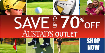 Shop Austad's Golf Outlet Save Up to 70% Off