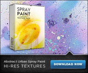 Abstract Urban Spray Paint at Go Media
