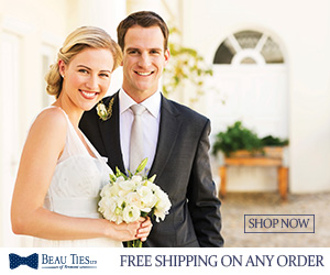 Free Shipping from Beau Ties Ltd. of Vermont