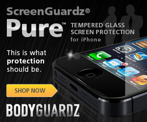 BodyGuardz® Pure™ Premium Glass Screen Protector