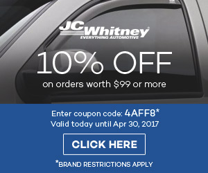10% Off at JC Whitney