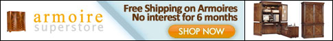 Free Shipping on Armoires