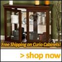 Shop Curio Cabinets, Inc Today!