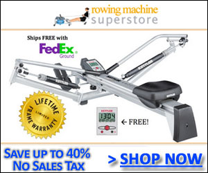 Shop at the Rowing Machine Superstore Today!