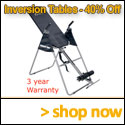 Inversion Tables.com coupons