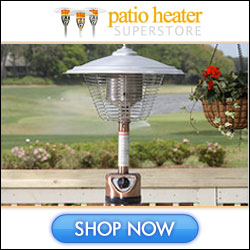 Shop Patio Heaters, Inc. Today!