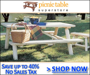Shop at the Picnic Table Superstore Today!