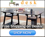 Check The Large Savings when you shop the Desk Super Store.
