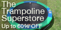 Trampolines - Free Shipping & 60% Off