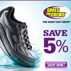 Shop ShoesForCrews.com and Get 5% Off!