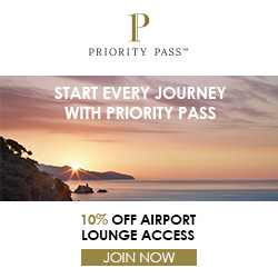 10% off a Priority Pass membership!
