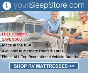 RV Mattress $500 Sale