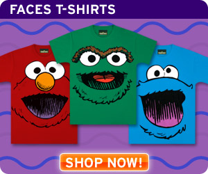 Shop Funny & Hip T-Shirts for All Ages in the Sesame Street Store!