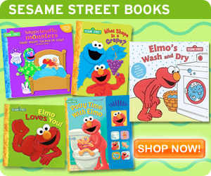 Check out all the fun to read books available in the Sesame Street Store!