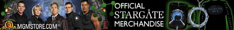 Stargate Merchandise at MGMStore.com!
