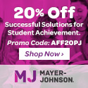 Mayer-Johnson 20% Off Sale
