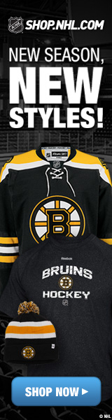 Shop for officially licensed Boston Bruins team fan gear at Shop.NHL.com