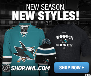 Shop for San Jose Sharks fan gear at Shop.NHL.com